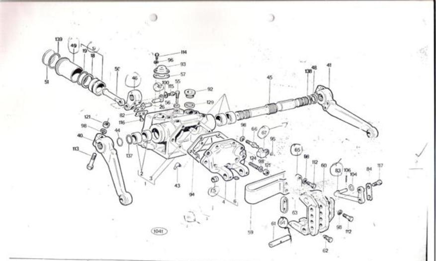 universal tractor 445-dt