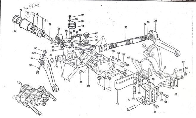 Universal Tractor 640 Universal Tractor Spare Parts