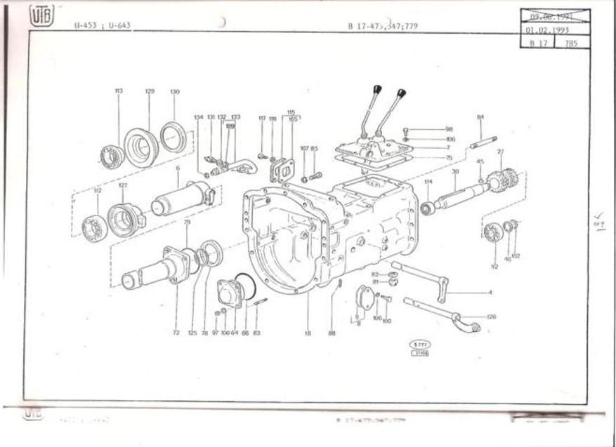 Tractor Fiat Partssteeringbox : Universal tractor dtf spare parts