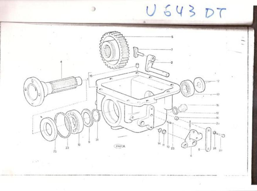 universal tractor 643 dtf